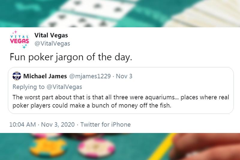 Poker jargon