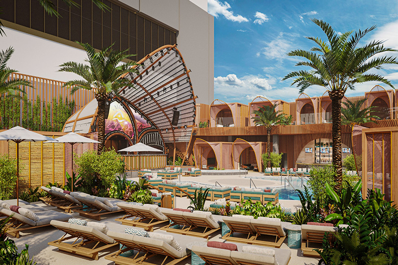 Resorts World dayclub