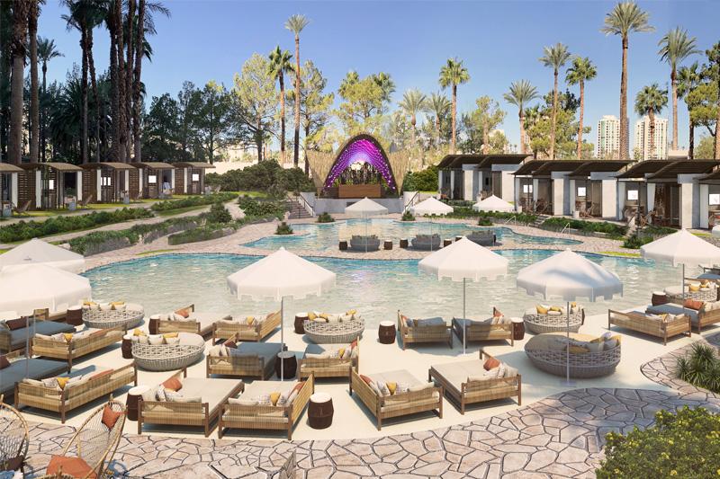 Virgin Vegas pool