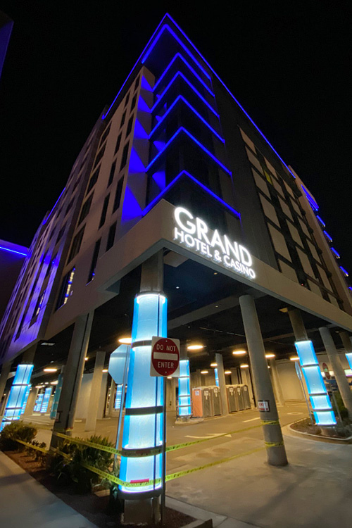 Downtown Grand hotel tower