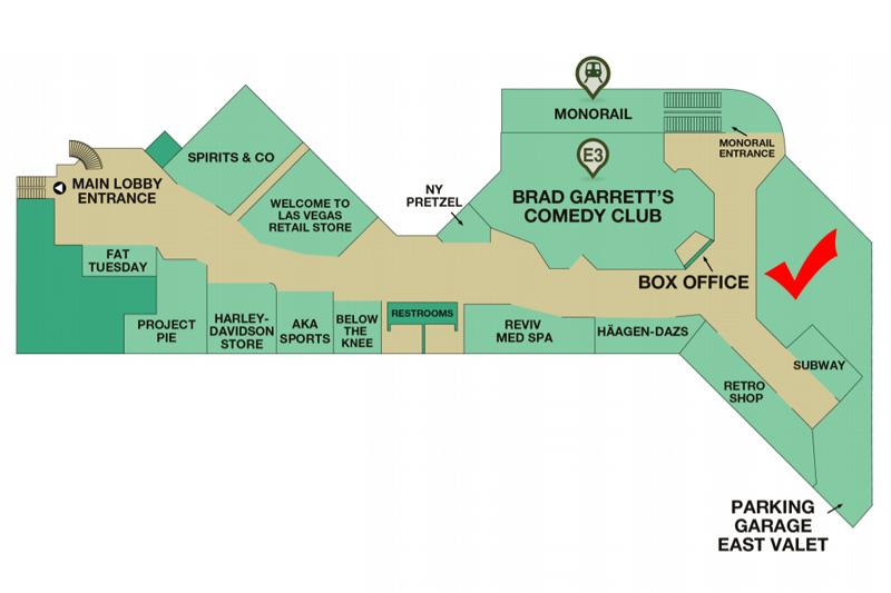MGM Underground map