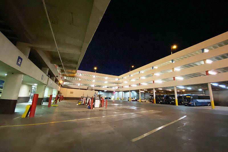 Greyhound station Vegas