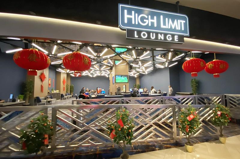 Strat high limit room