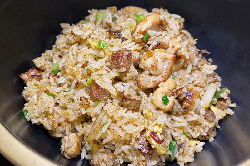 8 East fried rice