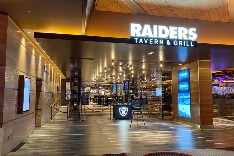 Raiders M Resort restaurant