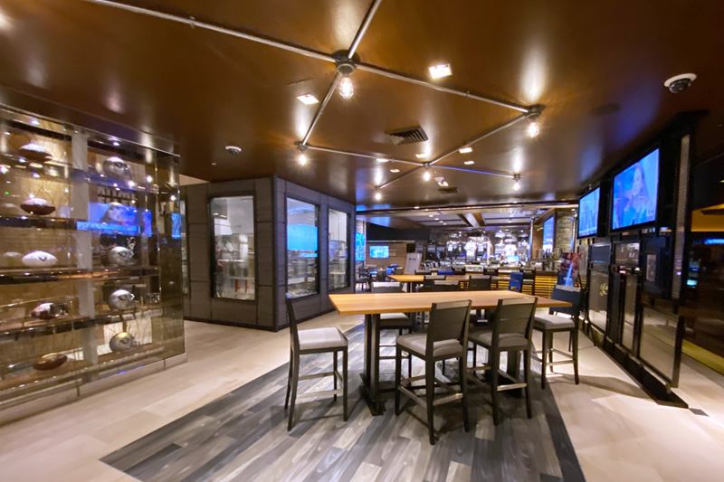 Raiders restaurant