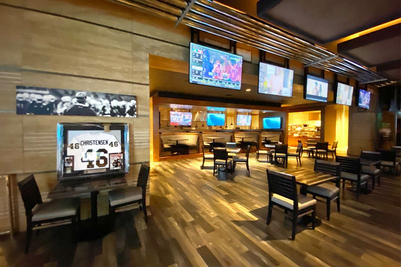 Raiders restaurant Vegas