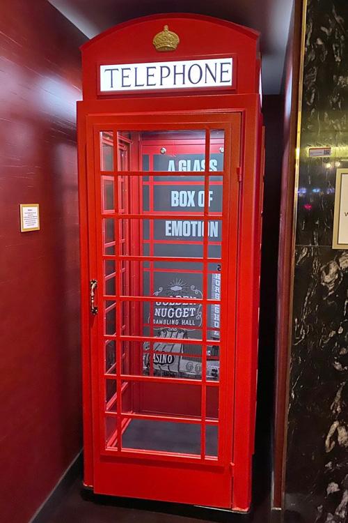 Circa phone booth