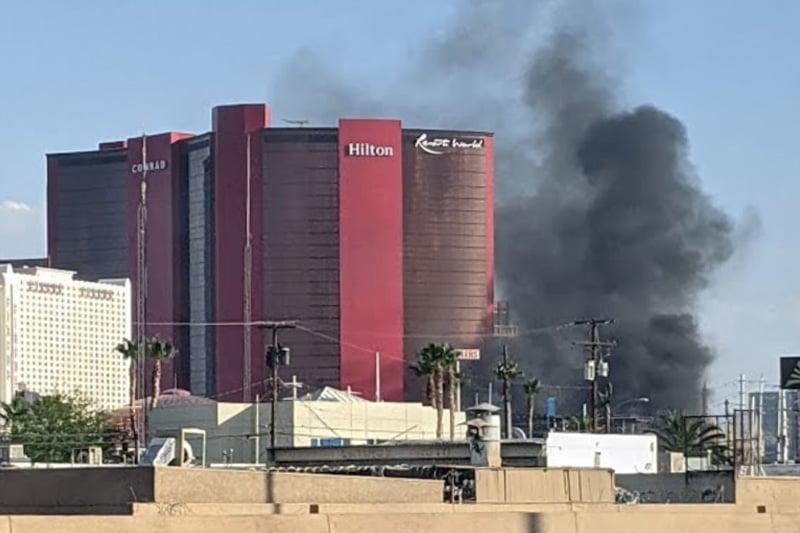 Resorts World smoke