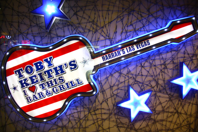 Toby Keith closed Harrah's