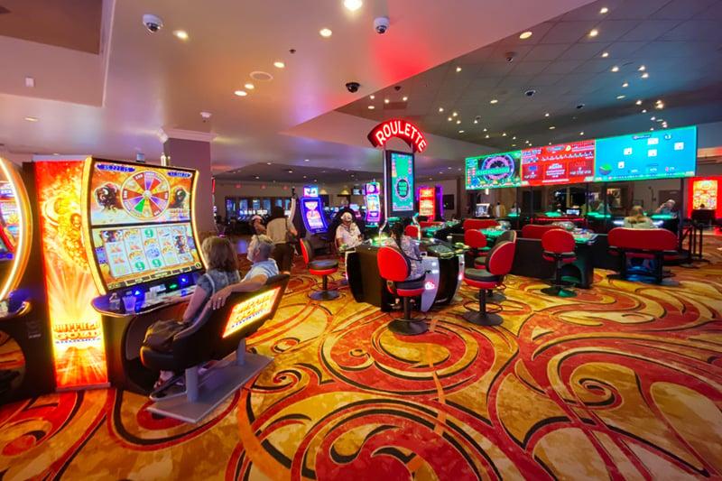 Tuscany casino floor