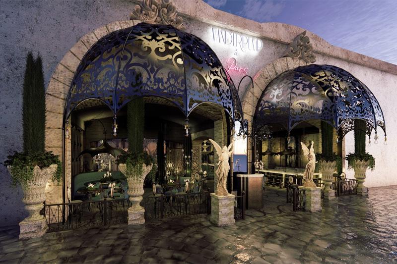 Vanderpump Paris lounge