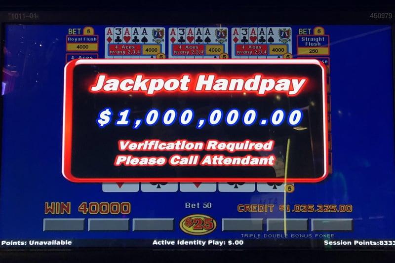 cosmo handpay million
