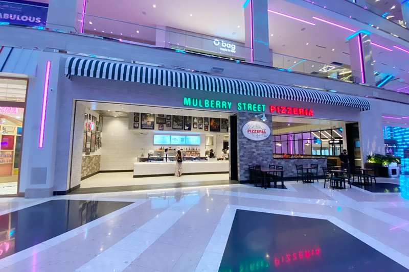 Resorts World pizzeria